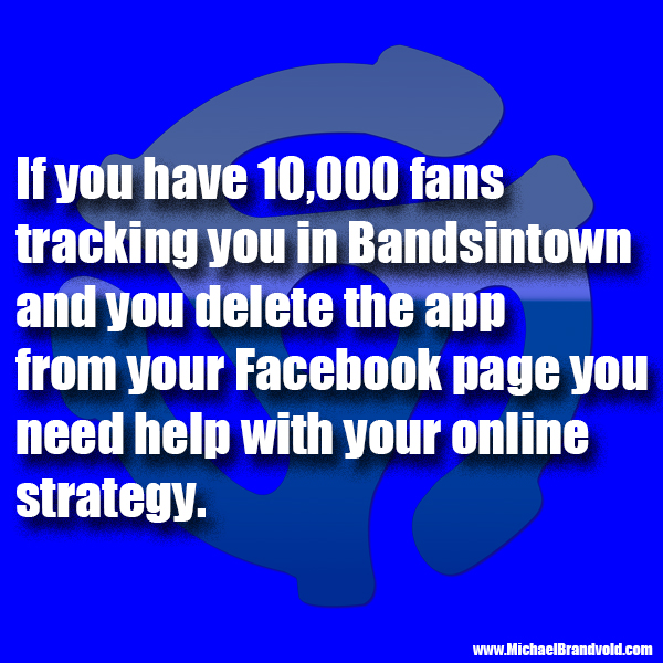 Why You Shouldn't Remove the Bandsintown App from Your Facebook Page