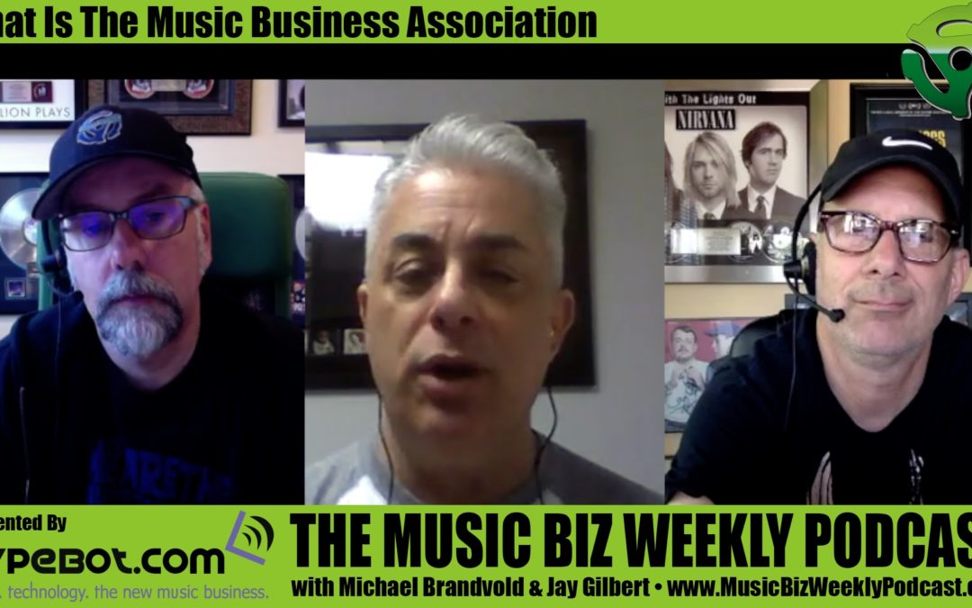 What is the Music Business Association with James Donio President of the MBA