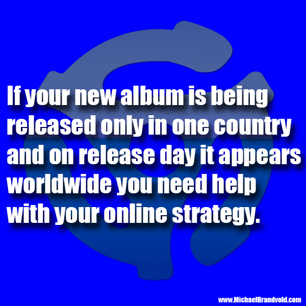 Do You Know What Territories Your Album Should Be Released In, Did You Verify on Release Day?