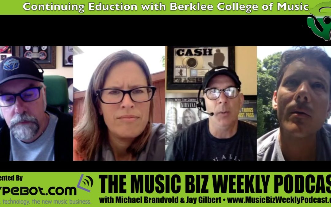 Continuing Your Music Education with Berklee College Of Music and BerkleeOnline