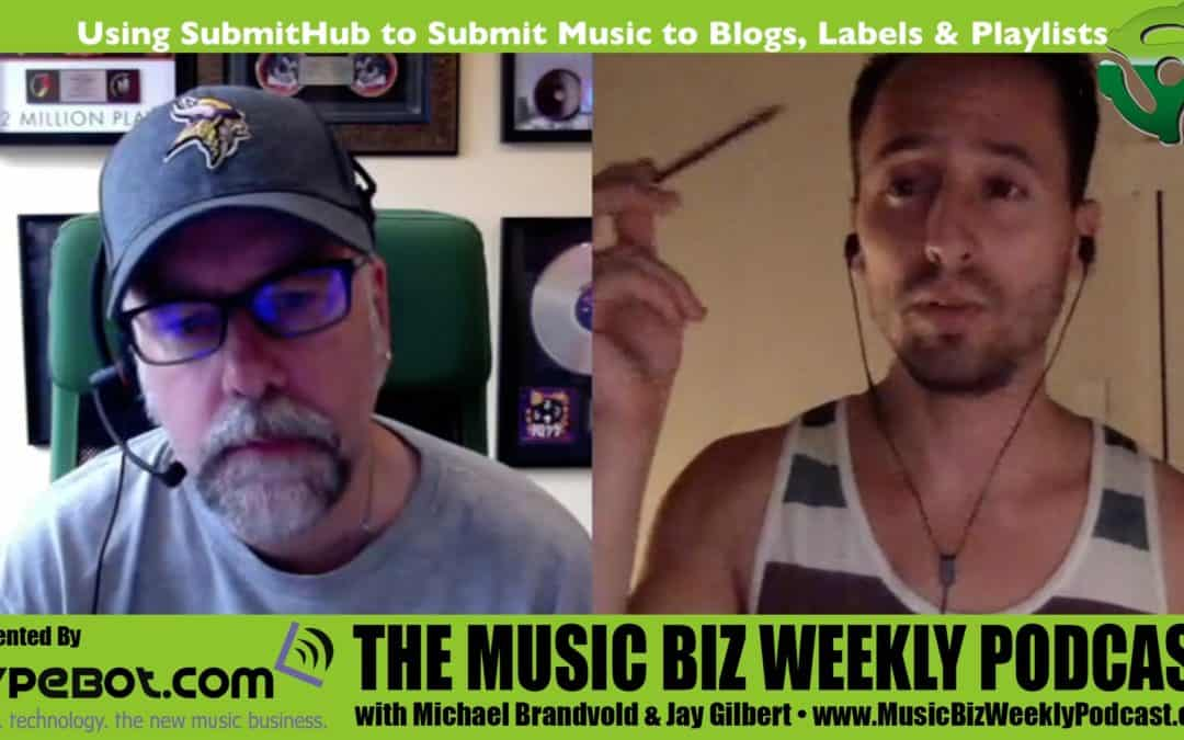 Using SubmitHub to Submit Your Music to Blogs, Labels & Playlists