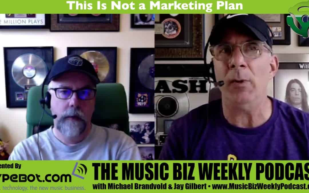 This Is Not a Marketing Plan for Your Next Release