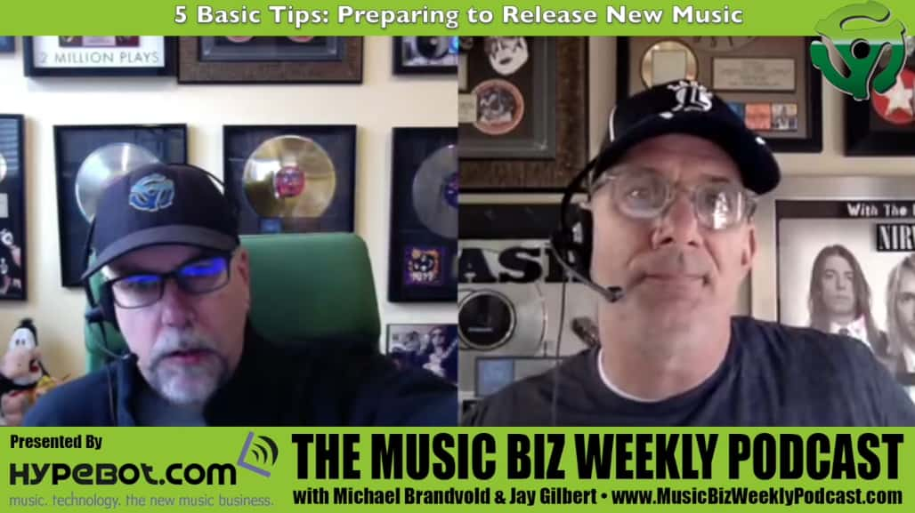 5 Basic Tips: Preparing to Release New Music