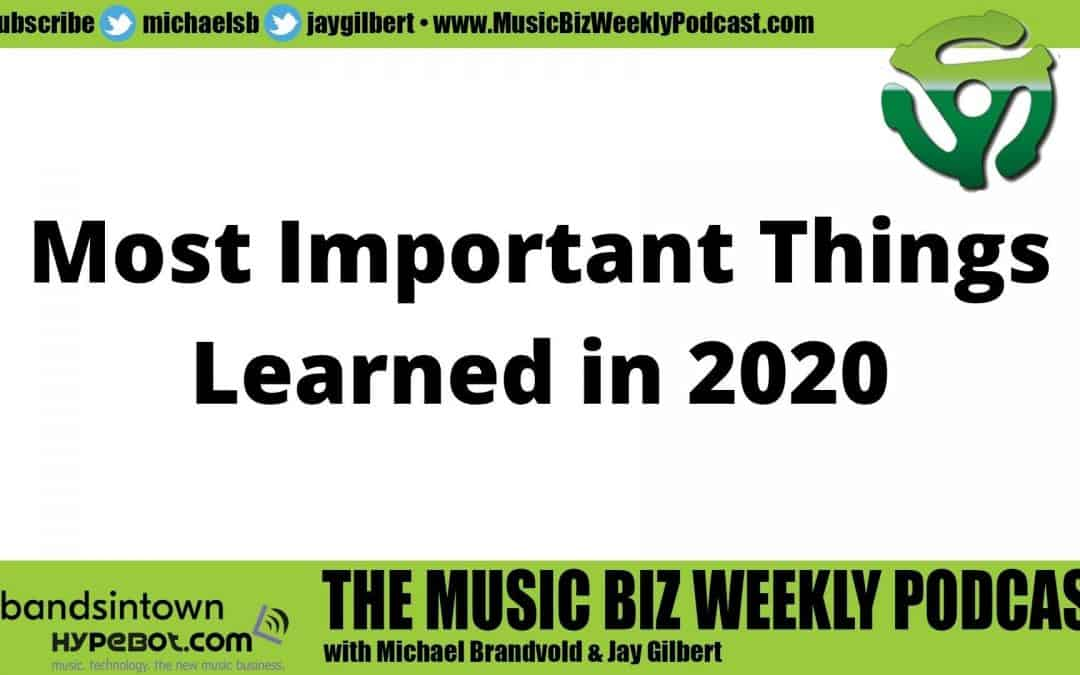 Ep. 450 The Most Important Things a Musician Can Learn in 2020