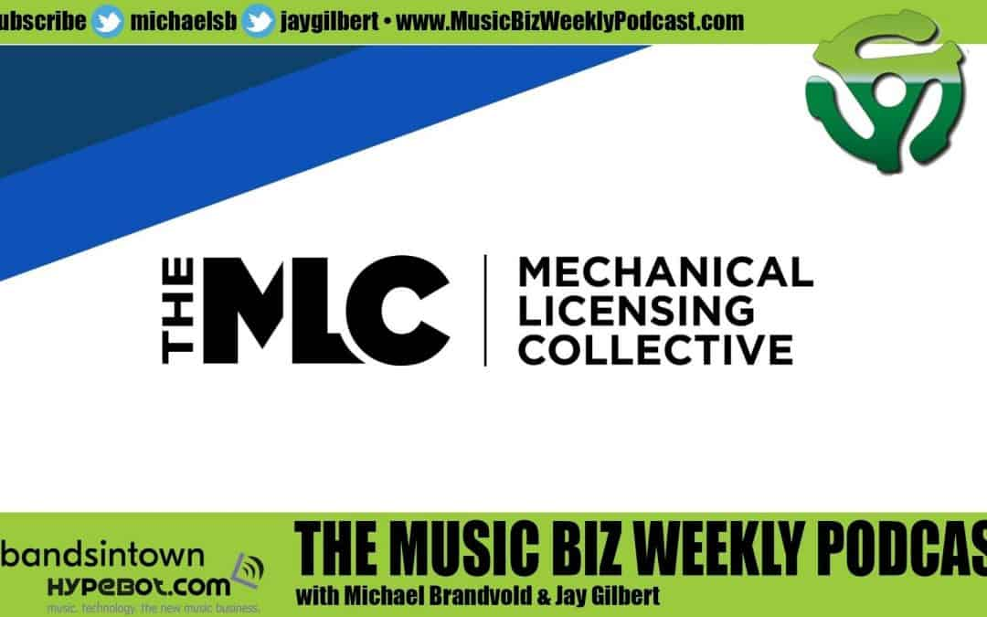 Ep. 457 The Mechanical Licensing Collective Collects Royalties from Streaming and Download Services