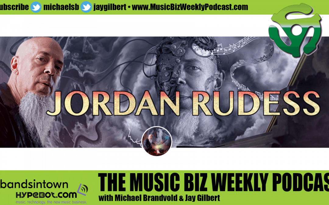 Ep. 468 Dream Theater's Jordan Rudess on Patreon, Cameo and Eligo and Liquid Tension Experiment