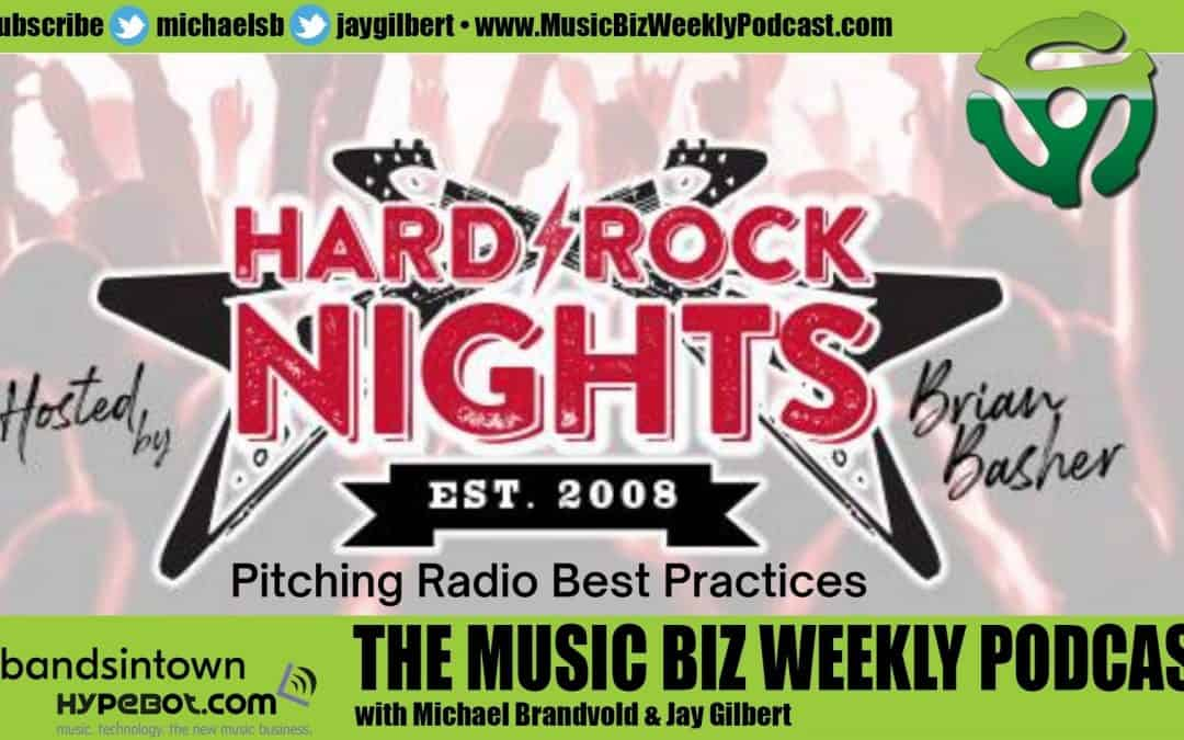 Ep. 476 Best Practices for Submitting Music to Radio with Brian Basher of Hard Rock Nights
