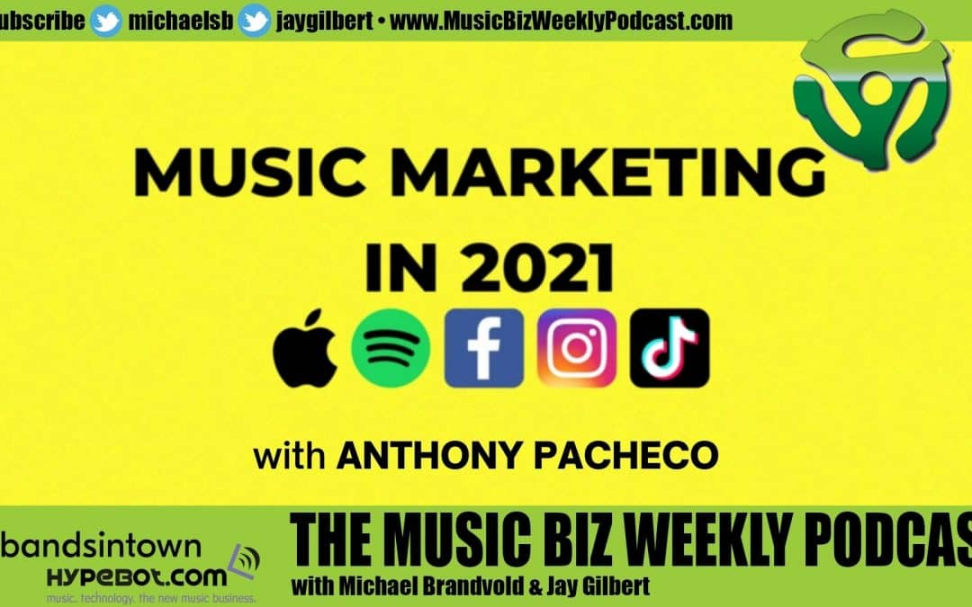 Ep. 477 How Music Promotion is Going to Change in 2021 with Anthony Pacheco